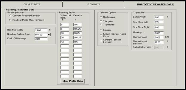 Culvert Design Software